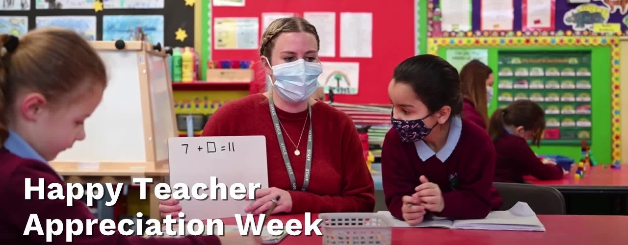 Happy Teacher Appreciation Week from SchoolTube!