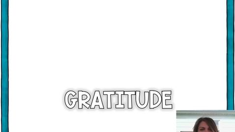 Thumbnail for entry Gratitude