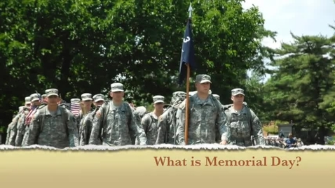 Thumbnail for entry Memorial Day