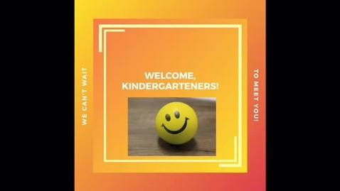 Thumbnail for entry Kindergarten Registration 2020