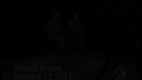 Thumbnail for entry Tuesday, February 12, 2013