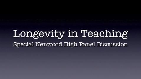 Thumbnail for entry Longevity in Teaching