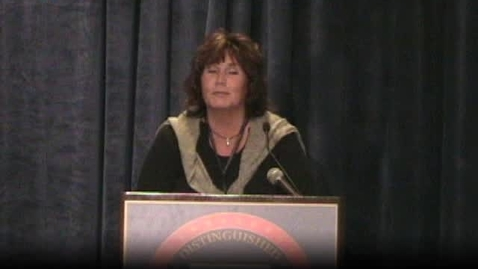 Thumbnail for entry Mary Russman of Netherlands NDP award speech