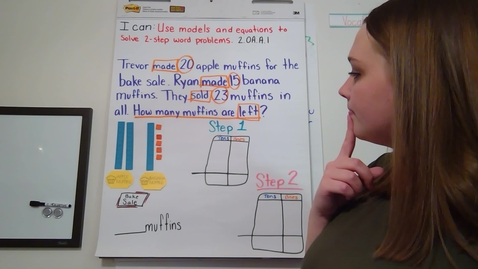 Thumbnail for entry Solving Two Step Word Problems