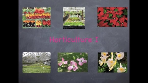 Thumbnail for entry Horticulture