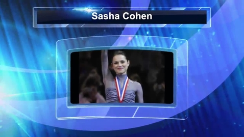 Thumbnail for entry Culture Sasha Cohen