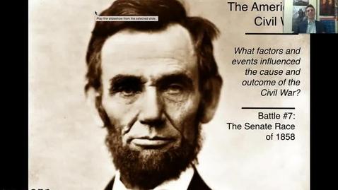 Thumbnail for entry Lincoln-Douglas Debates (Causes #7)