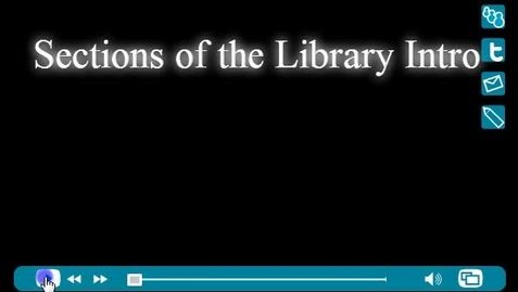 Thumbnail for entry Sections of the Library
