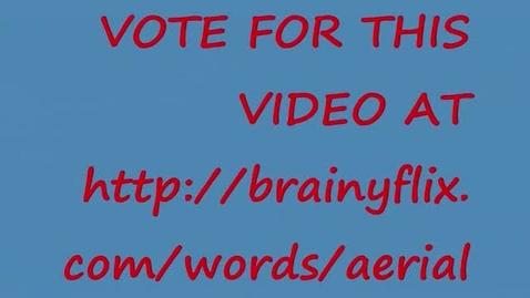 Thumbnail for entry Aerial-Brainyflix.com Vocab Contest