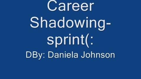 Thumbnail for entry Sprint- Daniela Johnson