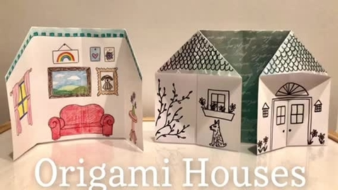 Thumbnail for entry Origami Houses