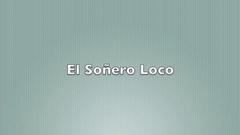 Thumbnail for entry Senero loco