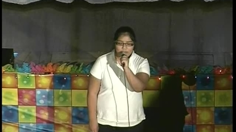 Thumbnail for entry Act 11 Nightingale school Talent Show 2011 KWN Kid witness news