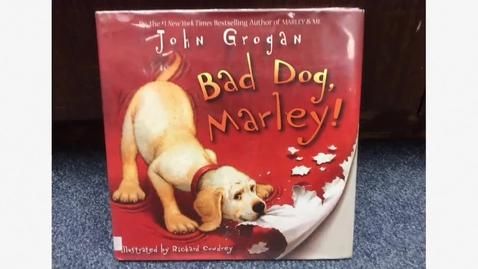 Thumbnail for entry Bad Dog Marley book trailer