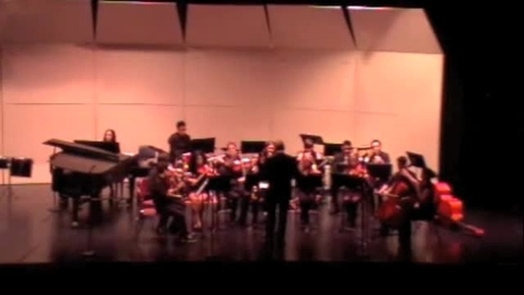 Thumbnail for entry RHS Orchestra performs La Rejouissance, Spy Guy, Antique Dances and Radetzky March
