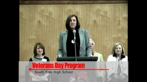 Thumbnail for entry Veterans Day at South Side with Navy Band