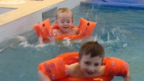 Thumbnail for entry Early Learners making a big splash!