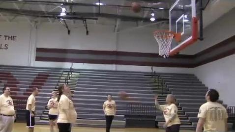 Thumbnail for entry Senior/Faculty Basketball Game 2012