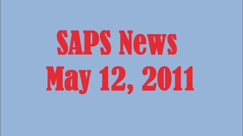 Thumbnail for entry SAPS News 5-12-2011