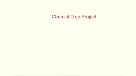 Thumbnail for entry Chemist Tree