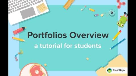 Thumbnail for entry How students post to their Portfolio on ClassDojo 🗂