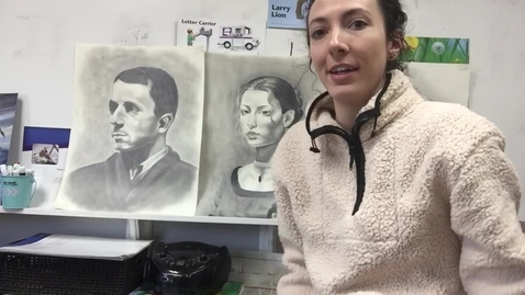 Thumbnail for entry Elementary art (drawing from photograph)