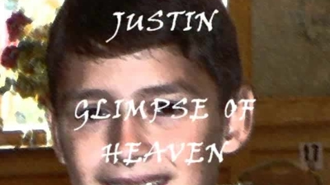 """Thumbnail for entry JUSTIN (10 years old) """"Glimpse Of Heaven"""" (PS22 Chorus)"""