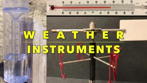Thumbnail for entry Weather Instruments - Mr. Sean, Fernbank Science Center Meteorologist,  Atlanta, GA