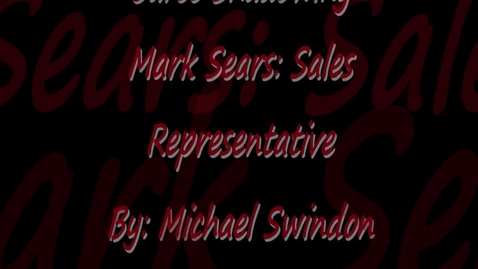 Thumbnail for entry Michael Swindon Career Shadowing