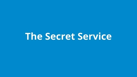 Thumbnail for entry The Secret Service
