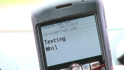 Thumbnail for entry Texting While Driving: How Dangerous is it? - Car and Driver