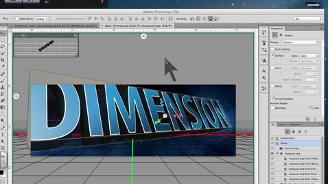 Thumbnail for entry 3d Type- Starting your project
