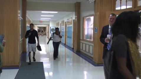 Thumbnail for entry New Principal at Ladue High School