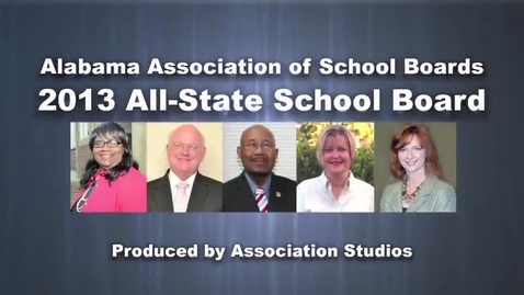 Thumbnail for entry 2013 All-State School Board - Alabama Association of School Boards