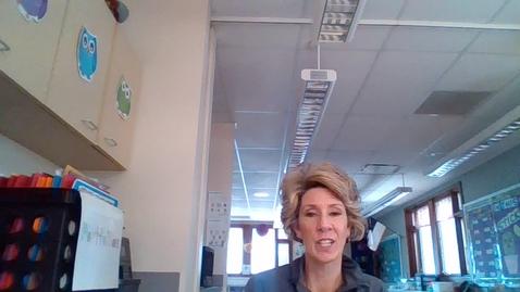 Thumbnail for entry PreK4 - Morning Video - Mrs. Albers - Day 2