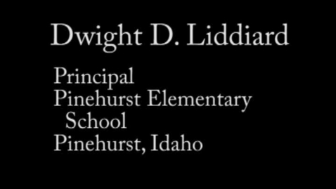 Thumbnail for entry Zone 9 Candidate Dwight D. Liddiard