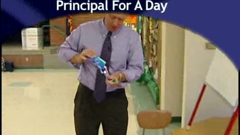Thumbnail for entry Dr. Stuart Flynn Principal For A Day