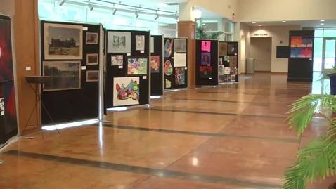 Thumbnail for entry Senior Art Show News Package