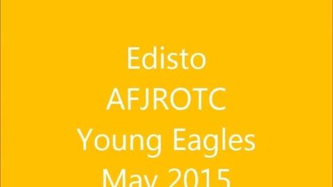 Thumbnail for entry Edisto High AFJROTC visits Young Eagles May 2015