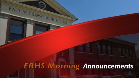 Thumbnail for entry ERHS Morning Announcements 5-14-21