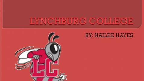 Thumbnail for entry Lynchburg College presentation