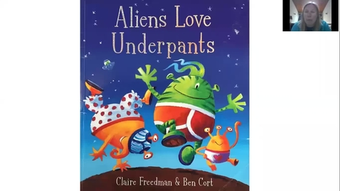 Thumbnail for entry Mrs Lothian reads Aliens Love Underpants