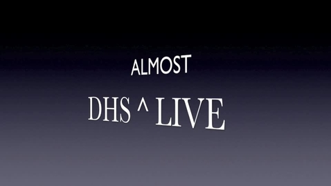 Thumbnail for entry DHS Announcements 1