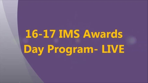 Thumbnail for entry 16-17 1st-4th Awards Day Program-LIVE