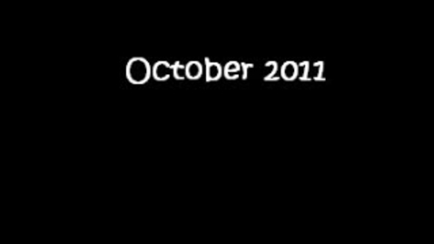 Thumbnail for entry October 2011 Events