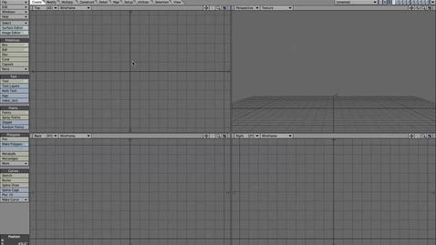Thumbnail for entry Intro to Lightwave Modeler