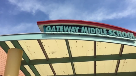 Thumbnail for entry Gateway Middle School PBS video 2015-2016