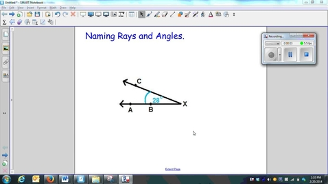 Thumbnail for entry Naming Rays and Angles