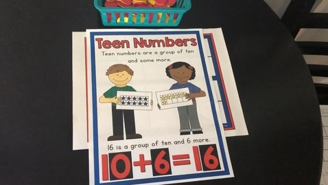 Thumbnail for entry Composing Numbers 11 - 19.mp4