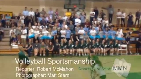 Thumbnail for entry Volleyball Sportsmanship